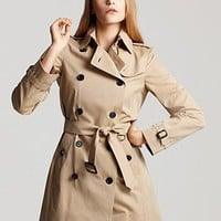 Burberry London Buckingham Trench Coat | Bloomingdale's
