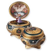 Alexandra &amp; Nicholas Hinged Trinket Box from Anastasia Perfect Christmas Gift Idea: Jewelry: Amazon.com