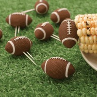 Football Cornholders - Set of 8 | Organize.com