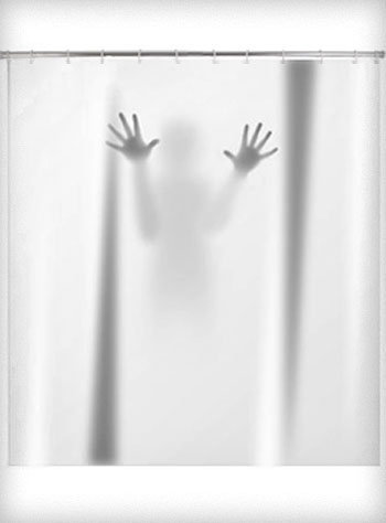 Scary Shower Curtain | PLASTICLAND
