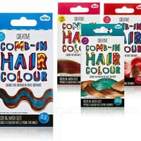 COMB-IN & WASH OUT HAIR COLOR