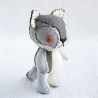 Wolf Plush Art Doll, Faolan