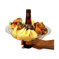 Amazon.com: The Go Plate Reusable Food & Beverage Holder: 21 Plates: Kitchen & Dining