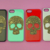 Floral Skull-- Iphone 5 Case Studde.. on Luulla