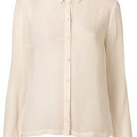 Longsleeve Western Yoke Shirt - Tops  - Clothing