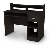 Amazon.com: South Shore Axess Collection Desk, Black: Home & Kitchen