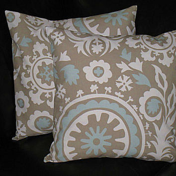 EURO shams decorative throw pillows from LittlePeepsHomeDecor on