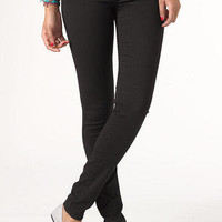 Olivia Low-Rise Jegging Black