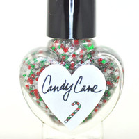Candy Cane Nail Polish 5ml Mini Bottle