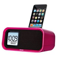 iHome Alarm Clock for iPod® - Pink (iH22LB)