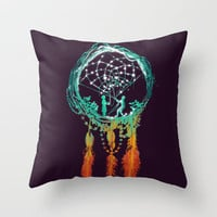 Dream Catcher (the rustic magic) Throw Pillow by Budi Satria Kwan | Society6