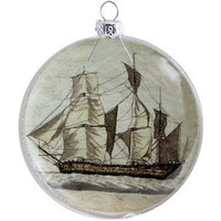 Apartment 48 - Shop - Christmas (Xmas) - Ship Ornament - Home Furnishings and Interior Design - New York City