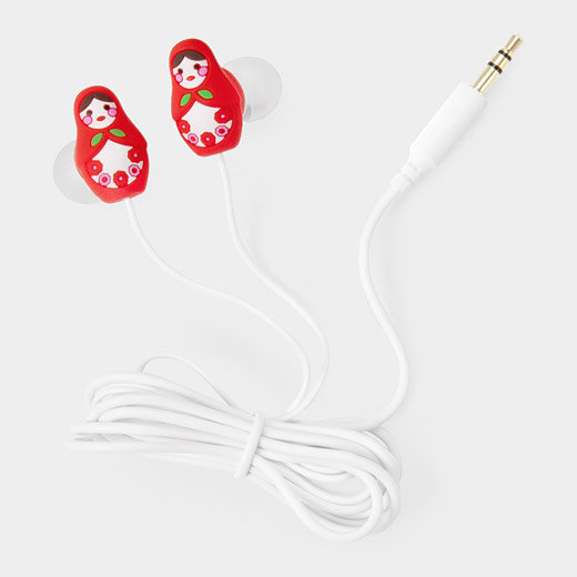 Matryoshka Earbuds | MoMA Store