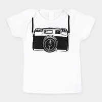 Camera Print Baby Tee | MoMA Store