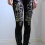 Small -  NOCTEX - Death Tarot Card Leggings