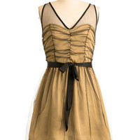 Golden Gumption Dress | Mod Retro Vintage Dresses | ModCloth.com