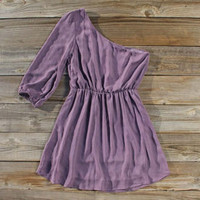 Plum Drop Party Dress, Sweet Women&#x27;s Bohemian Clothing