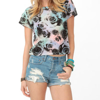 Color-Dusted Rose Tee | FOREVER21 - 2018120476