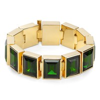 Michael Kors Emerald Crystal Bracelet | Bloomingdale&#x27;s