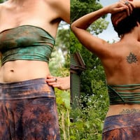 Tube top pixie shirt braided poi hooping clothing