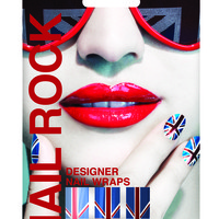 Nail Rock Wraps in Union Jack Flag