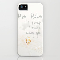 Marriage Proposal  SAY IT WITH AN iPhone Case * YOU WANT TO MARRY YOUR HONEY?  Take this iPhone case as gift for your sweetie! 5 #