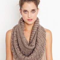 Split Infinity Scarf - Silver - NASTY GAL