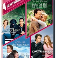Romantic Comedy: 4 Film Favorites (Must Love Dogs / You've Got Mail / Two Weeks Notice / Laws of Att