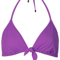 Violet Triangle Bikini Top - New In This Week  - New In