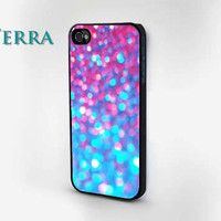 iPhone 4, iPhone 4s iphone5 case  plastic -  Glitter & Sparkle Design  iphone Cool iPhone Cases- Cool iPhone Cases- iPhone 4 iPhone 4s -