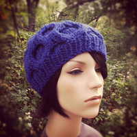 Chunky Morel Hat - Iris - MADE TO O.. on Luulla