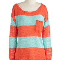Sunset Sneaking In Sweater | Mod Retro Vintage Sweaters | ModCloth.com