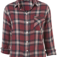 Drop Back Check Shirt - Casual Shirts