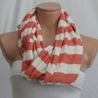 Infinity Red Scarf - Little Things Store