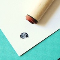 Hedgehog Rubber Stamp