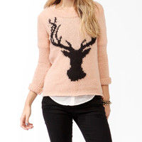 Deer Silhouette Sweater