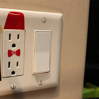 Doctor Who Power Outlet Decal
