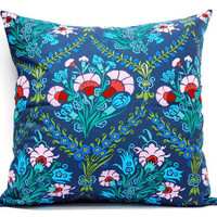 Amy Flower - Cushion cover, Pillow 18x18 inch, envelope throw pillow cover, festive holiday gift