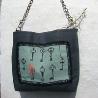 Were are the keys vintage stile bag by inma2020 on Etsy