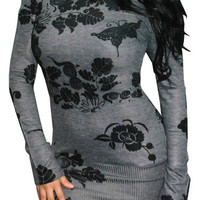 A Chance (Grey/Black)-Great Glam is the web&#x27;s top online shop for trendy clubbin styles, fashionable party dress and bar wear, super hot clubbing clothing, stylish going out shirt, partying clothes, super cute and sexy club fashions, halter and tube tops,