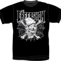 ROCKWORLDEAST - The Creepshow, T-Shirt, Guys Skull