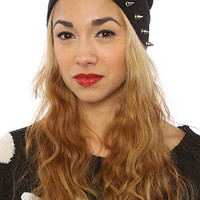 The Spiked Beanie in Black