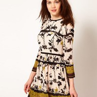Ted Baker Cameo Printed Dress at asos.com