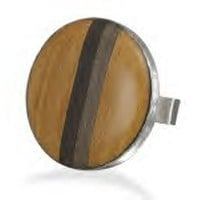 Wood Fashion Ring