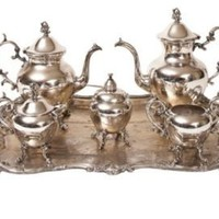 One Kings Lane - Elisabeth Weinstock - Tea &amp; Coffee Service, Set of 6