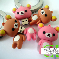 Bear Cartoon Unique USB Flash Drive - GULLEITRUSTMART.COM