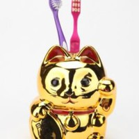 UrbanOutfitters.com > Lucky Cat Toothbrush Holder