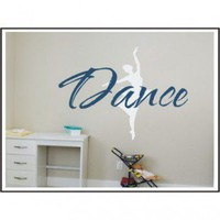 Alphabet Garden Designs Just Dance Wall Decal - child014 - All Wall Art - Wall Art & Coverings - Decor