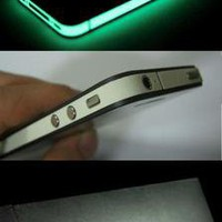 GLOW IN DARK iPhone 4 STRIP SIDE BAND DECAL!!!!!!
