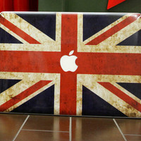 England Flag 1 Set (top sticker keybord sticker and bottom  sticker)Mac decals Macbook sticker Macbook pro decal Macbook air decal